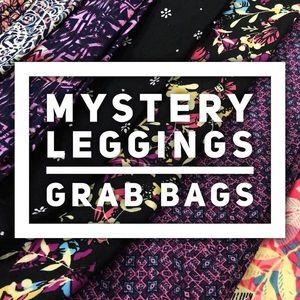 TWO Mystery Plus Size Leggings Bundle
